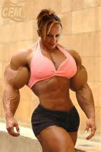 female muscle art & fantasy picture 7
