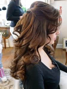 wedding hair half up half down formal picture 6