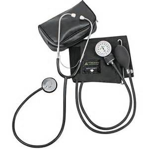 how to use blood pressure and stethescope picture 11