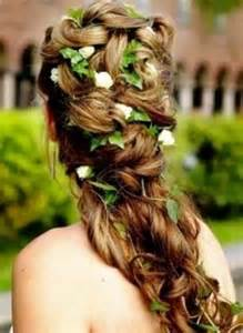 bridal hair styles with flowers picture 15