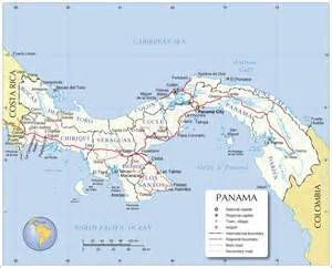 city map of isla colon panama picture 13