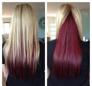 how to dye your hair light on top picture 3