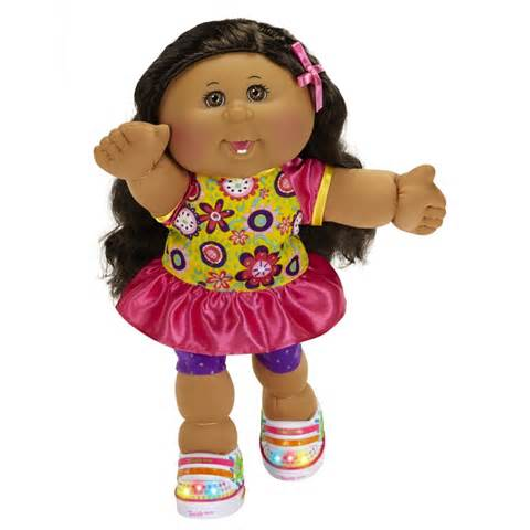 Cabbage patch dolls hair color changing picture 2