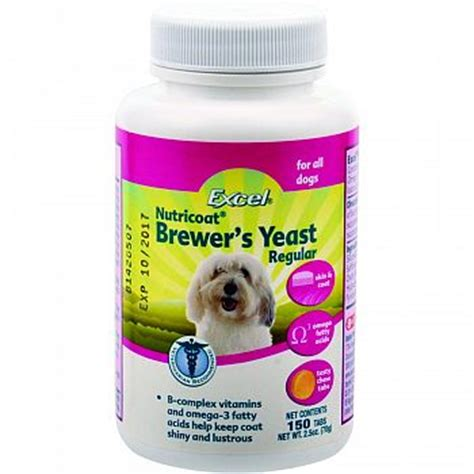excel brewers yeast w/ omega 3 fatty acids picture 1