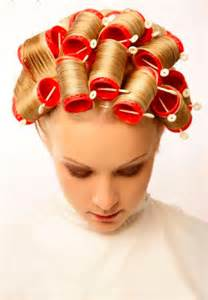 sissies in hair rollers picture 9