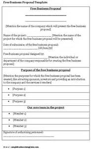 free online business proposals picture 2