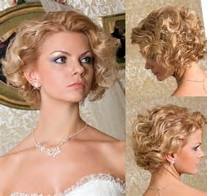 bridal hair styles for short picture 2