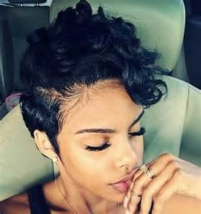 black short hair styles picture 2