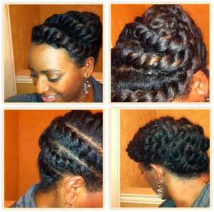 black hair style flat twists picture 14