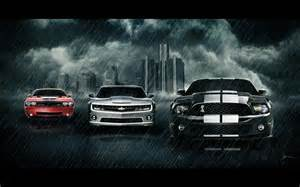 Muscle car wall paper picture 2