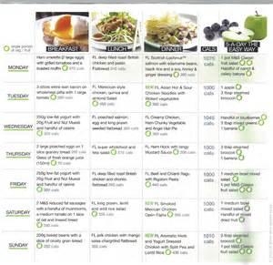 7 day diabetic weekly menu picture 3