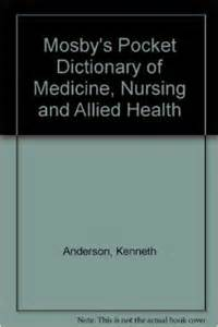 mosby's pocket dictionary of medicine nursing and allied picture 2