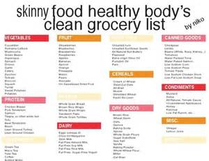 weight loss grocery list picture 13