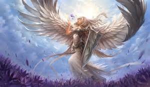 dark hair angel pictures picture 7