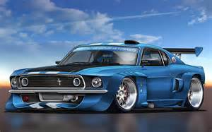 Muscle car wall paper picture 6