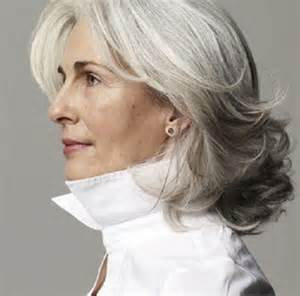 best hairstyles for grey hair picture 10