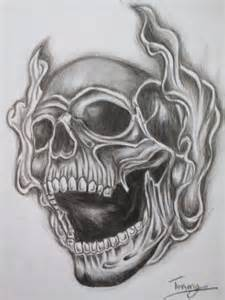 tattoos with smoke and skulls picture 2
