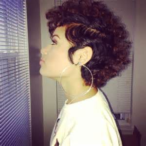 black hair cuts for curls picture 17