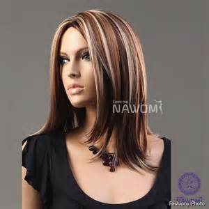 blonde highlights in black hair picture 10