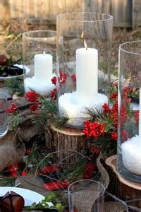 herbal or plant christmas table centerpieces on pinterest picture 2