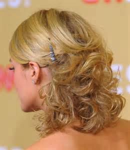 elegant medium length wavy hair down picture 9