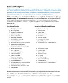 free business plans for home nursing care picture 3
