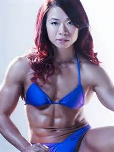asian female muscle picture 6