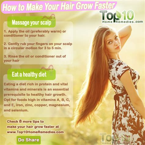 what makes hair grow faster picture 9