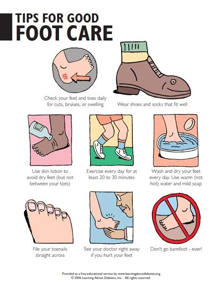 foot care for diabetics picture 5