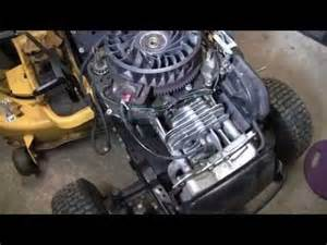 kohler tractor engine blowing white smoke and stalling picture 5