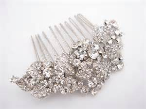 bridal hair comb picture 2
