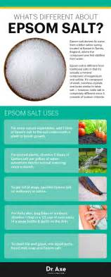 what is epsom salt used for in a picture 7