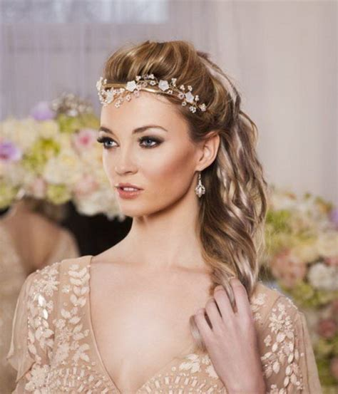 curly hair wedding updos picture 13