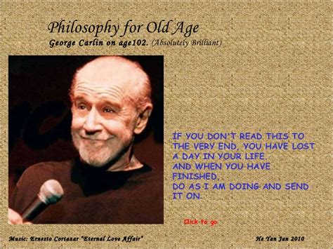 george carlin on aging picture 1
