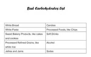 bad carbs list picture 13