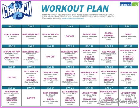 weight loss exercise plans picture 9