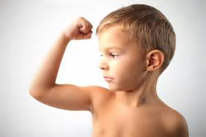 flexing muscles picture 5