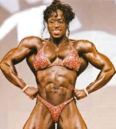 female bodybuilder ing two guys picture 6