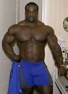 Black muscle bear picture 9