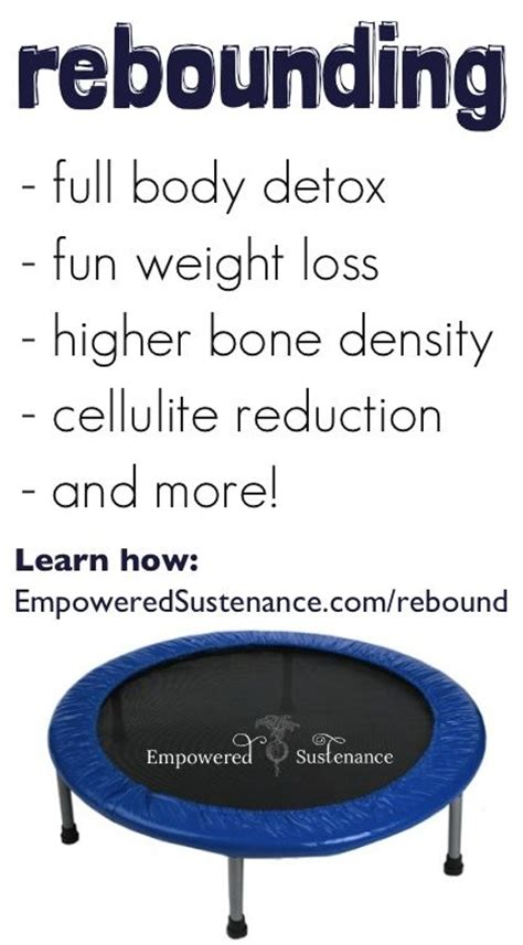 weightloss with rebounding picture 1