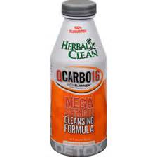 herbal clean qcarbo16 with elimnex how long it picture 1