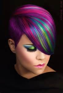 colored hair styles picture 3