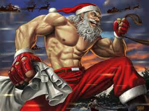 muscle men christmas picture 6
