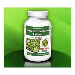 pure green coffee bean 400mg vegetarian capsules by picture 5
