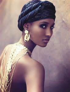 black hair wraps picture 9
