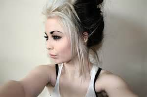 crazy black and blonde hair picture 10