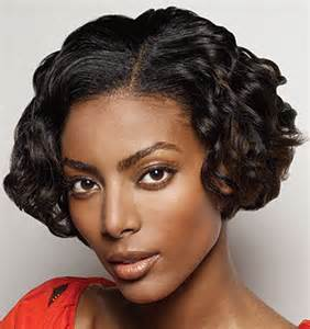 black hair styles for short weave picture 7