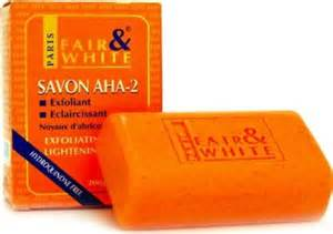 fair and white aha2 savon exfoliating and brightening picture 7