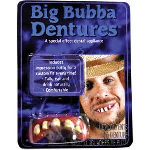 bubba teeth picture 1