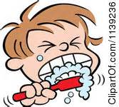 brushing teeth clipart picture 9